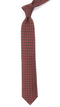 Medallion Medley Burnt Orange Tie