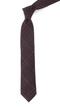 Wiseacre Wool Plaid Burgundy Tie