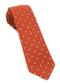 Primary Dot Burnt Orange Tie