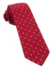 Primary Dot Red Tie