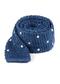 Scramble Knit Polkas Blue Tie
