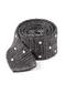 Scramble Knit Polkas Charcoal Tie