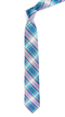 Paramount Plaid Light Blue Tie