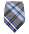 Winter Plaid Blues Tie