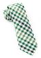 Gibson Check Green Tie