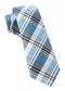 Bryant Plaid Light Blue Tie