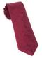 Twill Paisley Burgundy Tie