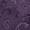 Custom Paisley Eggplant Bow Tie