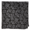 Intellect Floral Black Pocket Square