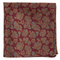 Intellect Floral Burgundy Pocket Square
