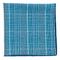 Wiseacre Wool Plaid Light Blue Pocket Square