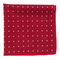 Primary Dot Red Pocket Square
