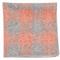 Printed Flannel Checks Orange Pocket Square