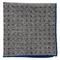 Paisley Timber Grey Pocket Square