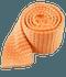 Textured Solid Knit Peach Tie