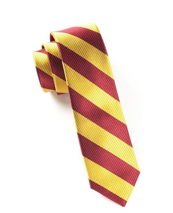 Classic Twill Burgundy Tie