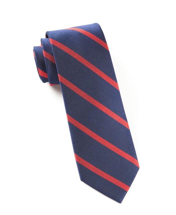 Trad Stripe Classic Navy Tie