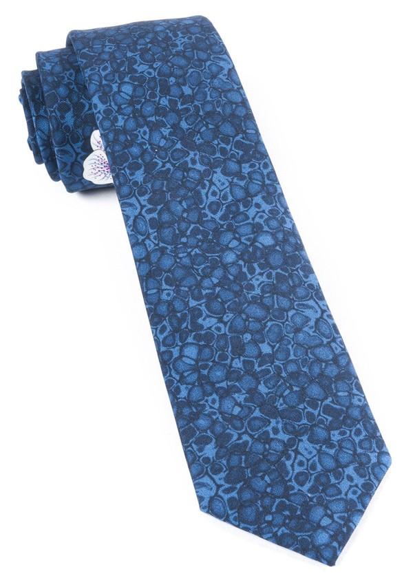 Cowabunga Hibiscus By Dwyane Wade Navy Tie