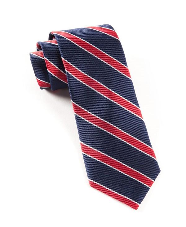 Honor Stripe Classic Navy Tie