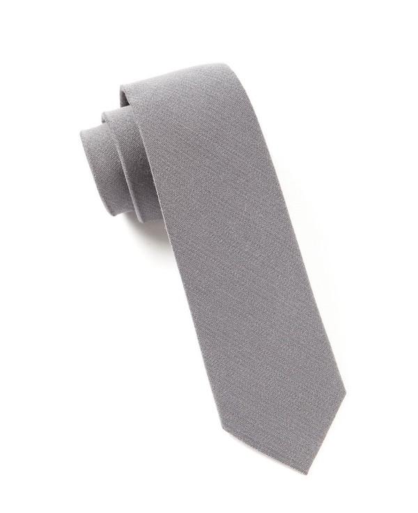 The Signature Grey Tie