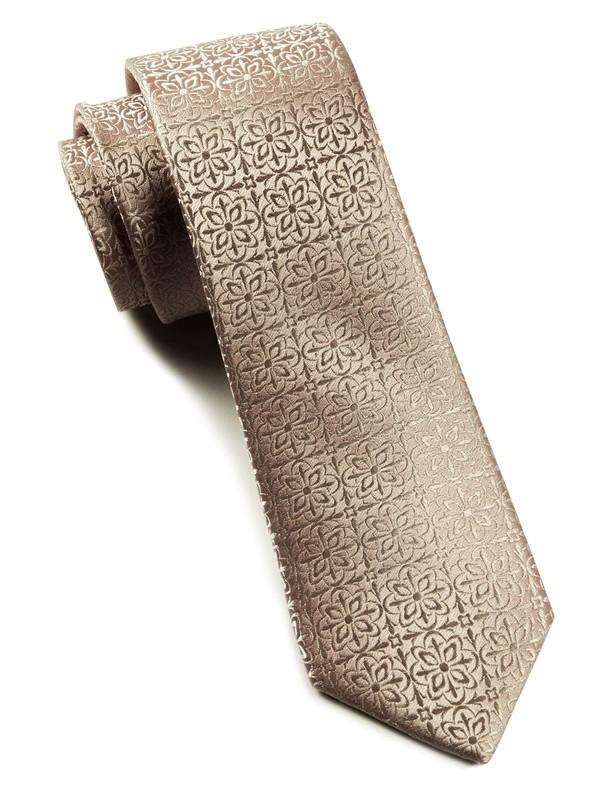 Opulent Champagne Tie
