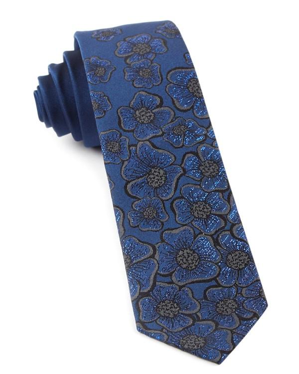Falling Florets By Dwyane Wade Serene Blue Tie