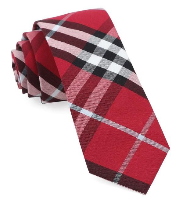 Legion Plaid Raspberry Tie