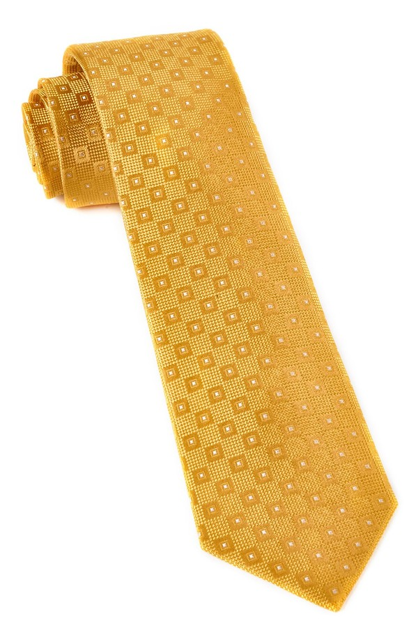Four Sided Yellow Gold Tie