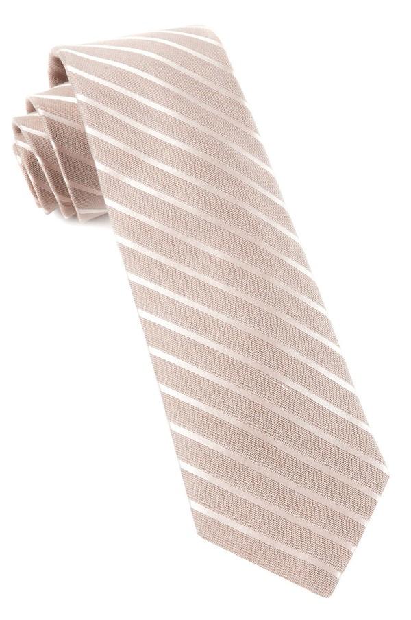 Aisle Runner Stripe Champagne Tie