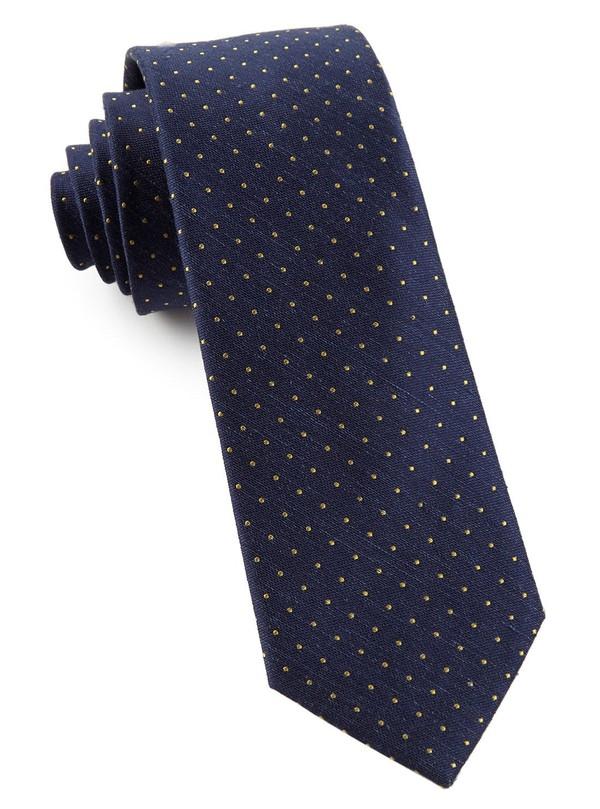 Rivington Dots Navy Tie