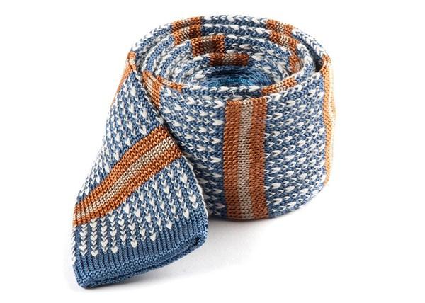 Journey Stripe Light Cornflower Tie