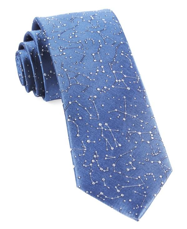 Constellation Space Blue Tie