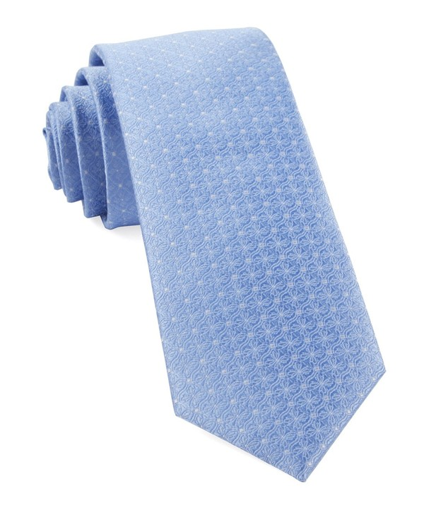 Medallion Lane Light Blue Tie