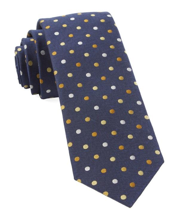 Spree Dots Yellow Tie