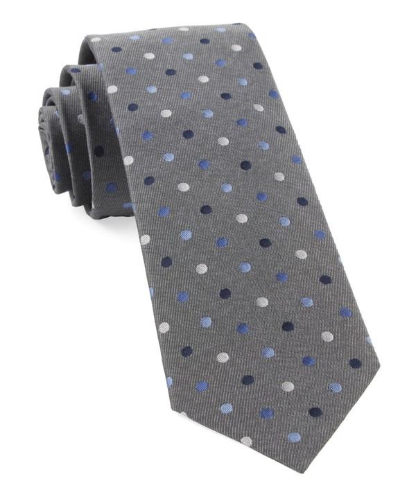 Spree Dots Grey Tie