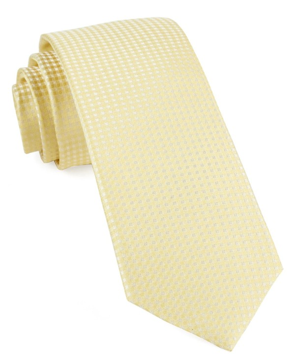 Be Married Checks Butter Tie
