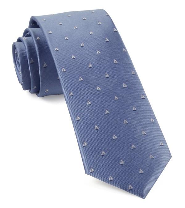 Sailboat Sprint Light Blue Tie