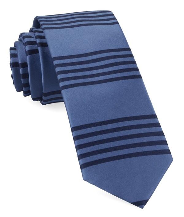Turf Stripes Cornflower Blue Tie