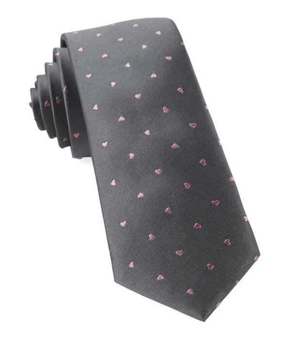 Heart To Heart Grey Tie