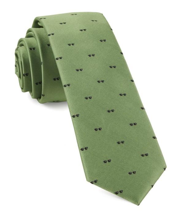 Sunglasses Apple Green Tie