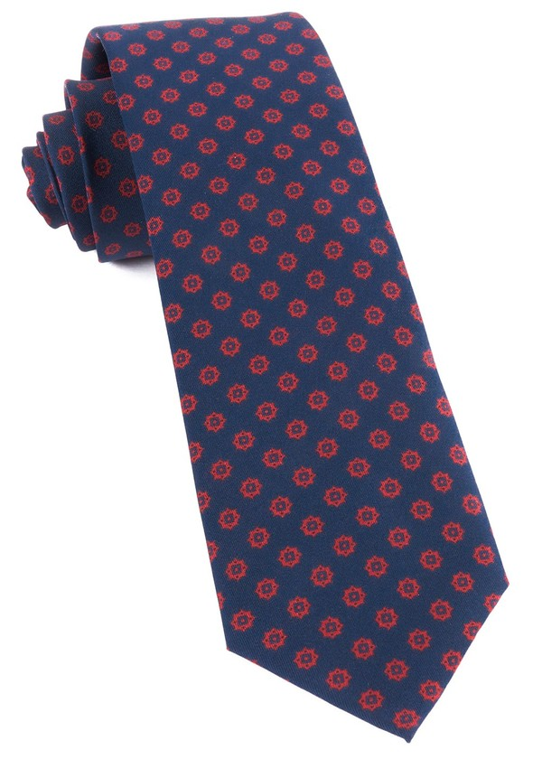 Major Star Navy Tie