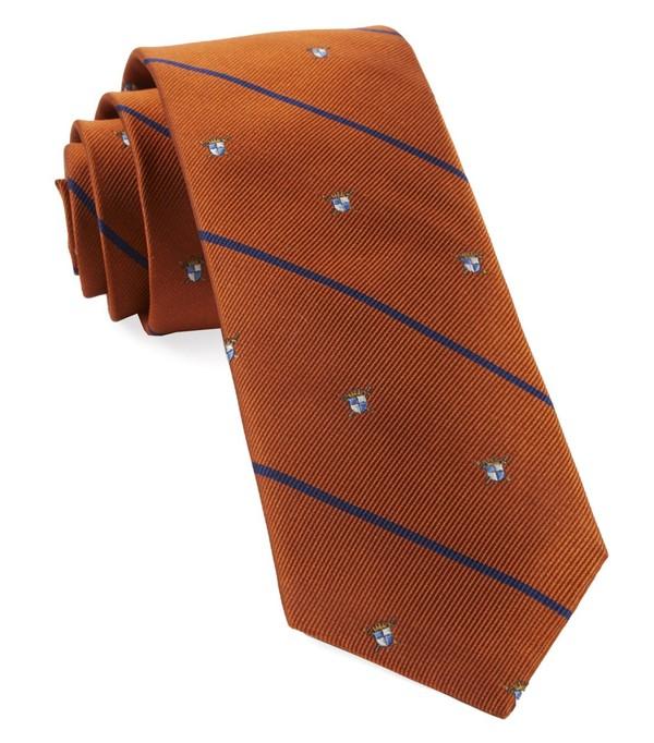 Club Quarters Orange Tie