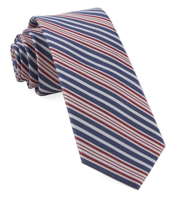 Patriot Stripe Navy Tie