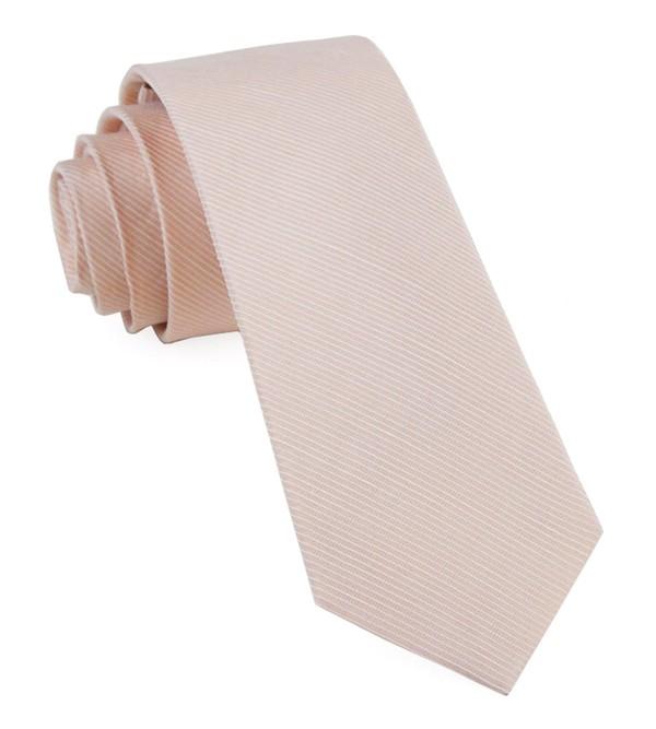Bhldn Blush Textured Solid Blush Tie