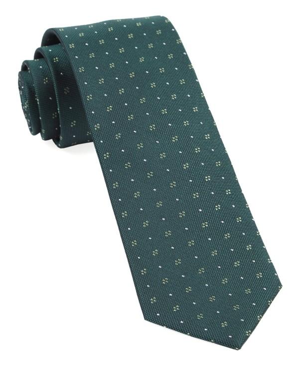 Geo Key Hunter Green Tie