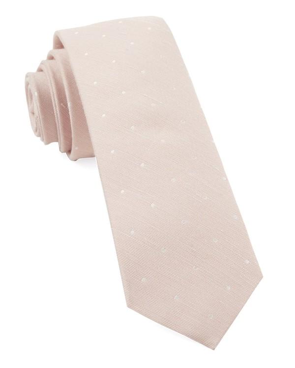 Bulletin Dot Blush Pink Tie