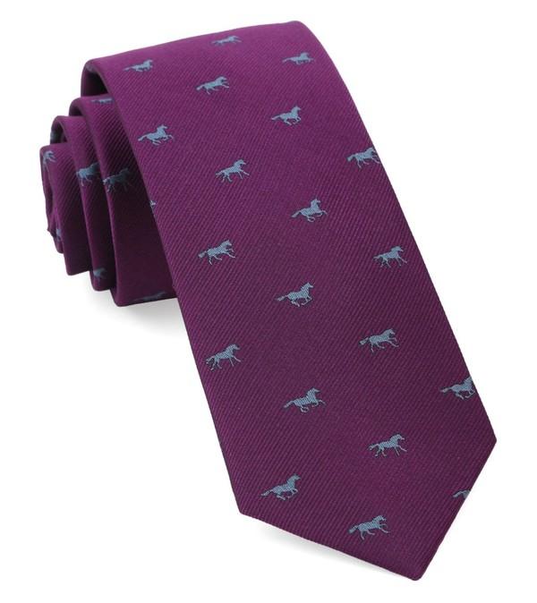 Wild Horses Azalea Tie