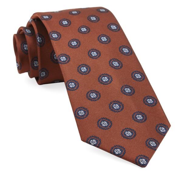 Counter Medallions Orange Tie