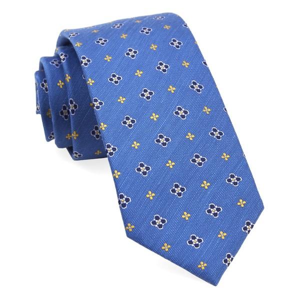 Harbor Medallions Classic Blue Tie
