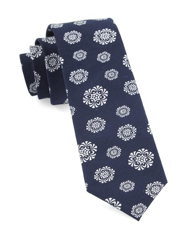 Kerchief Navy Tie